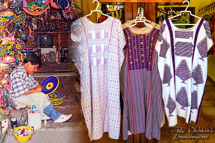 Shops and handcrafts in Zihuatanejo-Ixtapa